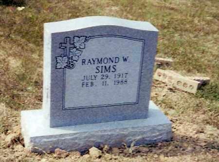 SIMS, RAYMOND WILLIAM - Izard County, Arkansas | RAYMOND WILLIAM SIMS - Arkansas Gravestone Photos