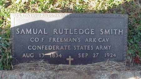 "SMITH  (VETERAN CSA), SAMUEL ""SOLOMAN"" - Izard County, Arkansas 