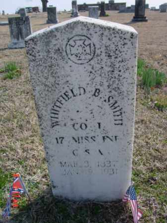 SMITH  (VETERAN CSA), WHITFIELD B - Izard County, Arkansas | WHITFIELD B SMITH  (VETERAN CSA) - Arkansas Gravestone Photos