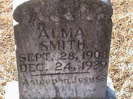 SMITH, ALMA - Izard County, Arkansas | ALMA SMITH - Arkansas Gravestone Photos