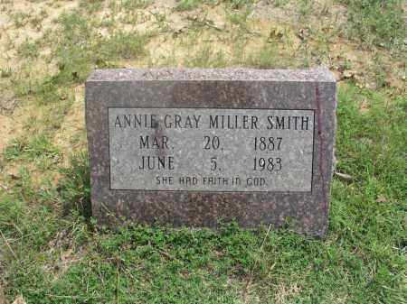 GRAY SMITH, ANNIE - Izard County, Arkansas | ANNIE GRAY SMITH - Arkansas Gravestone Photos