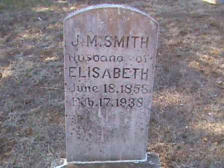 SMITH, J. M. - Izard County, Arkansas | J. M. SMITH - Arkansas Gravestone Photos