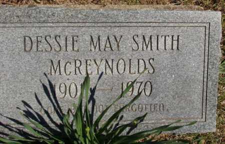 STOWERS SMITH MC REYNOLDS, DESSIE MAY - Izard County, Arkansas   DESSIE MAY STOWERS SMITH MC REYNOLDS - Arkansas Gravestone Photos
