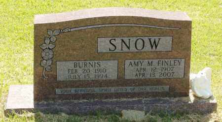 SNOW, BURNIS - Izard County, Arkansas | BURNIS SNOW - Arkansas Gravestone Photos