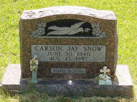 SNOW, CARSON JAY - Izard County, Arkansas | CARSON JAY SNOW - Arkansas Gravestone Photos
