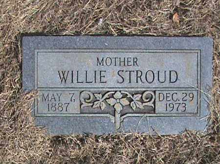 STROUD, WILLIE - Izard County, Arkansas | WILLIE STROUD - Arkansas Gravestone Photos