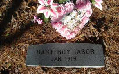 TABOR, INFANT SON - Izard County, Arkansas | INFANT SON TABOR - Arkansas Gravestone Photos