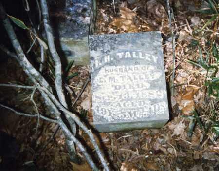 TALLEY (VETERAN UNION), ISHAM H - Izard County, Arkansas | ISHAM H TALLEY (VETERAN UNION) - Arkansas Gravestone Photos