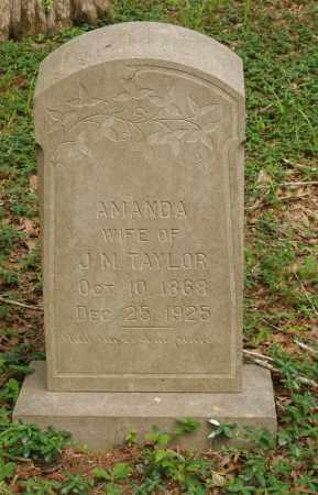 TAYLOR, AMANDA - Izard County, Arkansas | AMANDA TAYLOR - Arkansas Gravestone Photos
