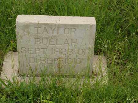 TAYLOR, BUELAH - Izard County, Arkansas | BUELAH TAYLOR - Arkansas Gravestone Photos