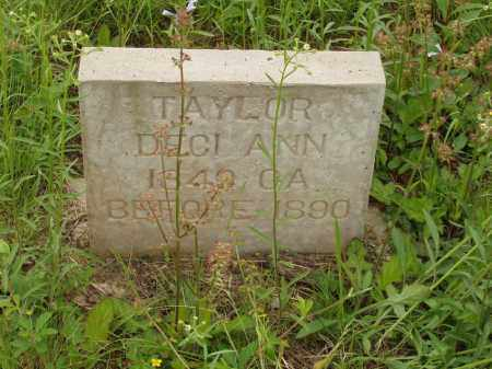 TAYLOR, DECI ANN - Izard County, Arkansas | DECI ANN TAYLOR - Arkansas Gravestone Photos