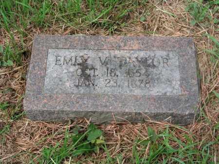 COLEMAN TAYLOR, EMILY VICTORIA - Izard County, Arkansas | EMILY VICTORIA COLEMAN TAYLOR - Arkansas Gravestone Photos