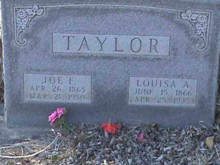 TAYLOR, LOUISA A. - Izard County, Arkansas | LOUISA A. TAYLOR - Arkansas Gravestone Photos