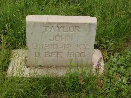 TAYLOR, JOHN - Izard County, Arkansas | JOHN TAYLOR - Arkansas Gravestone Photos