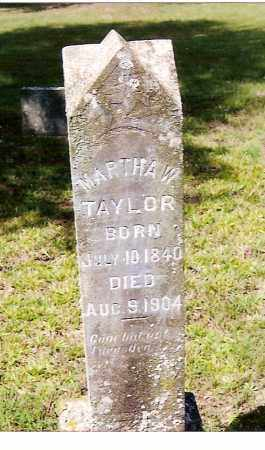 TAYLOR, MARTHA W. - Izard County, Arkansas | MARTHA W. TAYLOR - Arkansas Gravestone Photos
