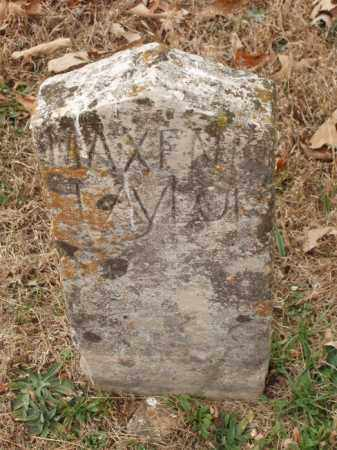 TAYLOR, MAXENE - Izard County, Arkansas | MAXENE TAYLOR - Arkansas Gravestone Photos