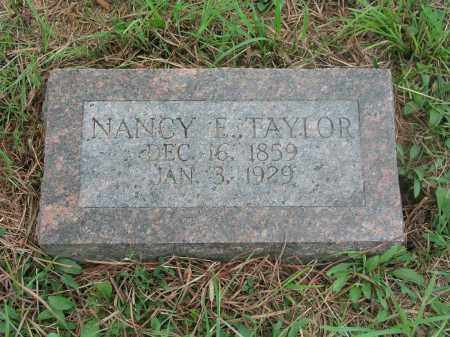 TAYLOR, NANCY ELIZABETH - Izard County, Arkansas | NANCY ELIZABETH TAYLOR - Arkansas Gravestone Photos