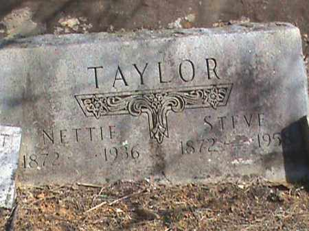 TAYLOR, NETTIE - Izard County, Arkansas | NETTIE TAYLOR - Arkansas Gravestone Photos