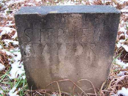 TAYLOR, STEPHEN - Izard County, Arkansas | STEPHEN TAYLOR - Arkansas Gravestone Photos