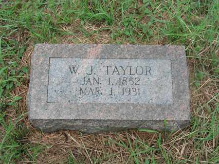 TAYLOR, WILLIAM JAMES - Izard County, Arkansas | WILLIAM JAMES TAYLOR - Arkansas Gravestone Photos