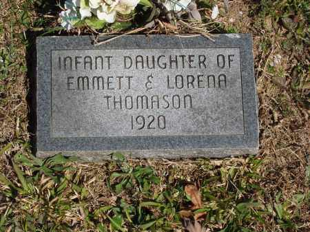THOMASON, INFANT DAUGHTER - Izard County, Arkansas | INFANT DAUGHTER THOMASON - Arkansas Gravestone Photos
