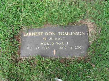 TOMLINSON  (VETERAN WWII), EARNEST DON - Izard County, Arkansas | EARNEST DON TOMLINSON  (VETERAN WWII) - Arkansas Gravestone Photos