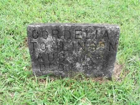 TOMLINSON, CORDELIA - Izard County, Arkansas | CORDELIA TOMLINSON - Arkansas Gravestone Photos
