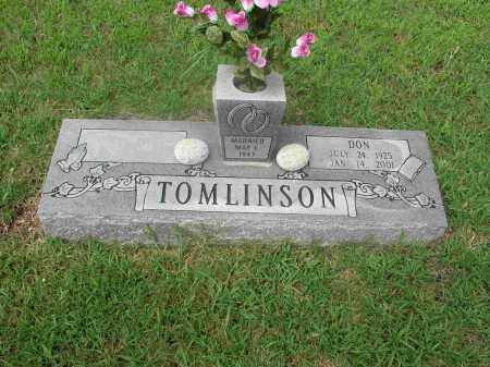 TOMLINSON, EARNEST DON - Izard County, Arkansas | EARNEST DON TOMLINSON - Arkansas Gravestone Photos