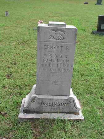 TOMLINSON, ERNEST R. - Izard County, Arkansas | ERNEST R. TOMLINSON - Arkansas Gravestone Photos