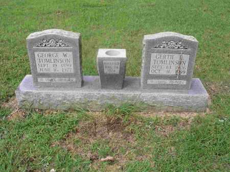 TOMLINSON, GERTIS L. - Izard County, Arkansas | GERTIS L. TOMLINSON - Arkansas Gravestone Photos