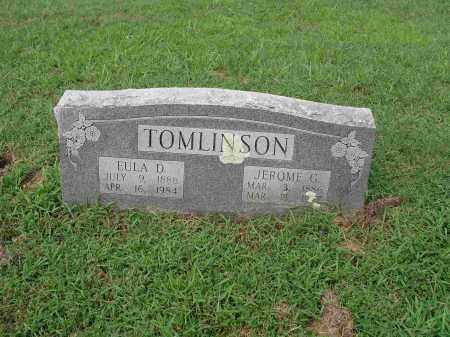 HODGES TOMLINSON, EULA D. - Izard County, Arkansas | EULA D. HODGES TOMLINSON - Arkansas Gravestone Photos