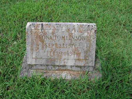 WOODS TOMLINSON, LEONA - Izard County, Arkansas | LEONA WOODS TOMLINSON - Arkansas Gravestone Photos