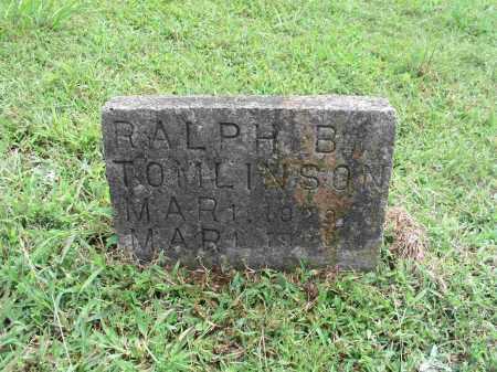 TOMLINSON, RALPH B. - Izard County, Arkansas | RALPH B. TOMLINSON - Arkansas Gravestone Photos