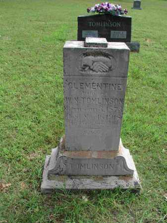 TOMLINSON, SARAH CLEMENTINE - Izard County, Arkansas | SARAH CLEMENTINE TOMLINSON - Arkansas Gravestone Photos