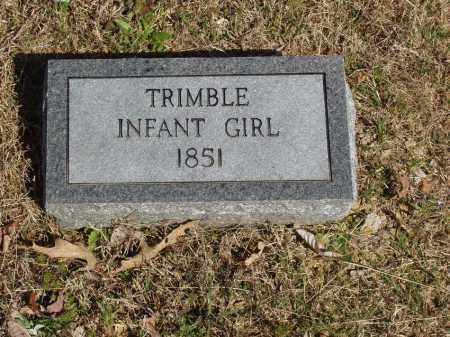 TRIMBLE, INFANT GIRL - Izard County, Arkansas | INFANT GIRL TRIMBLE - Arkansas Gravestone Photos