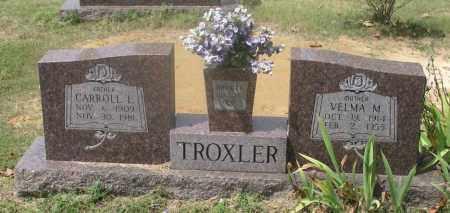 TROXLER, VELMA M. - Izard County, Arkansas | VELMA M. TROXLER - Arkansas Gravestone Photos