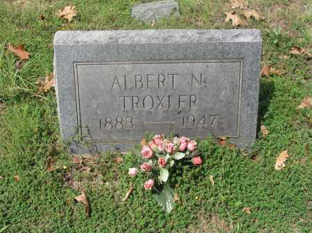 TROXLER, ALBERT N. - Izard County, Arkansas | ALBERT N. TROXLER - Arkansas Gravestone Photos