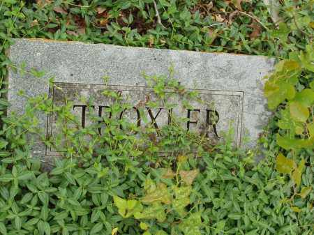 TROXLER, UNKNOWN - Izard County, Arkansas | UNKNOWN TROXLER - Arkansas Gravestone Photos
