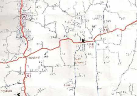 *MAP,  - Izard County, Arkansas |  *MAP - Arkansas Gravestone Photos