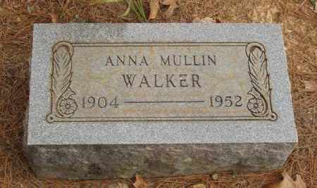MULLIN WALKER, ANNA - Izard County, Arkansas | ANNA MULLIN WALKER - Arkansas Gravestone Photos