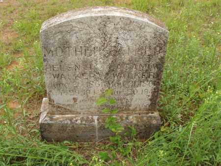COCKERHAM WALKER, HELEN HAZELTINE - Izard County, Arkansas | HELEN HAZELTINE COCKERHAM WALKER - Arkansas Gravestone Photos