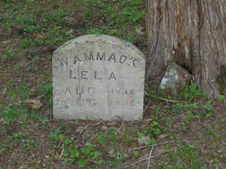 WAMMACK, LELA - Izard County, Arkansas | LELA WAMMACK - Arkansas Gravestone Photos
