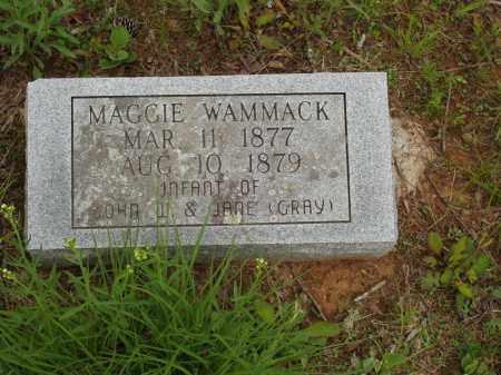 WAMMACK, MAGGIE - Izard County, Arkansas | MAGGIE WAMMACK - Arkansas Gravestone Photos