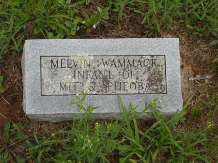 WAMMACK, MELVIN - Izard County, Arkansas | MELVIN WAMMACK - Arkansas Gravestone Photos