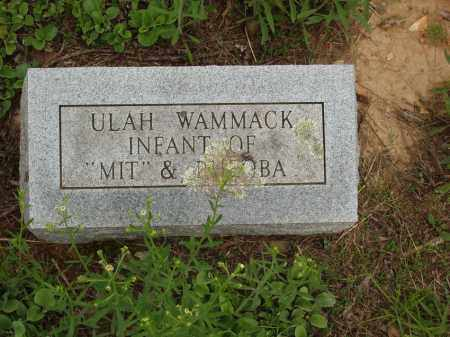 WAMMACK, ULAH - Izard County, Arkansas | ULAH WAMMACK - Arkansas Gravestone Photos