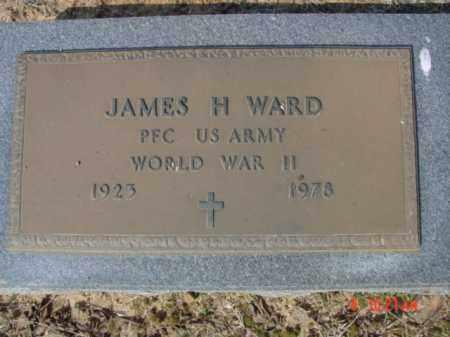 WARD  (VETERAN WWII), JAMES H - Izard County, Arkansas | JAMES H WARD  (VETERAN WWII) - Arkansas Gravestone Photos