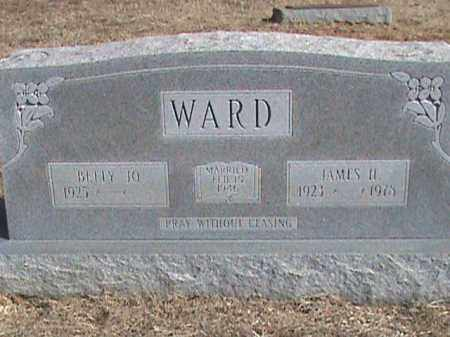 WARD, JAMES H. - Izard County, Arkansas | JAMES H. WARD - Arkansas Gravestone Photos