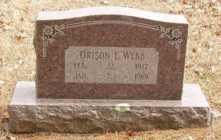 WEBB, ORISON E - Izard County, Arkansas | ORISON E WEBB - Arkansas Gravestone Photos