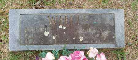 WHITE, KENNETH E - Izard County, Arkansas | KENNETH E WHITE - Arkansas Gravestone Photos