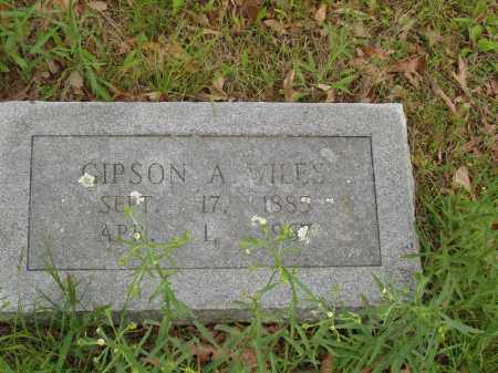 WILES, GIPSON A - Izard County, Arkansas | GIPSON A WILES - Arkansas Gravestone Photos